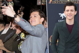 Tom Holland saves fan from pushing crowd