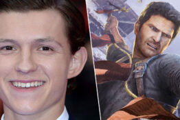 tom holland/nathan drake