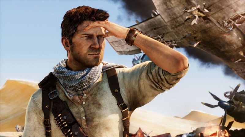 nathan drake in uncharted game