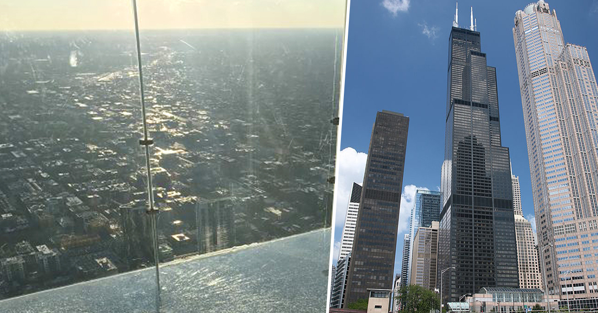 Skyscraper's 103rd Floor Glass Viewing Ledge Cracks When Family Stand On It