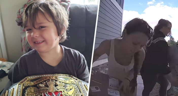 Thieves Who Stole Sick Boy's Replica WWE Belt Return It With Heartfelt Apology Letter