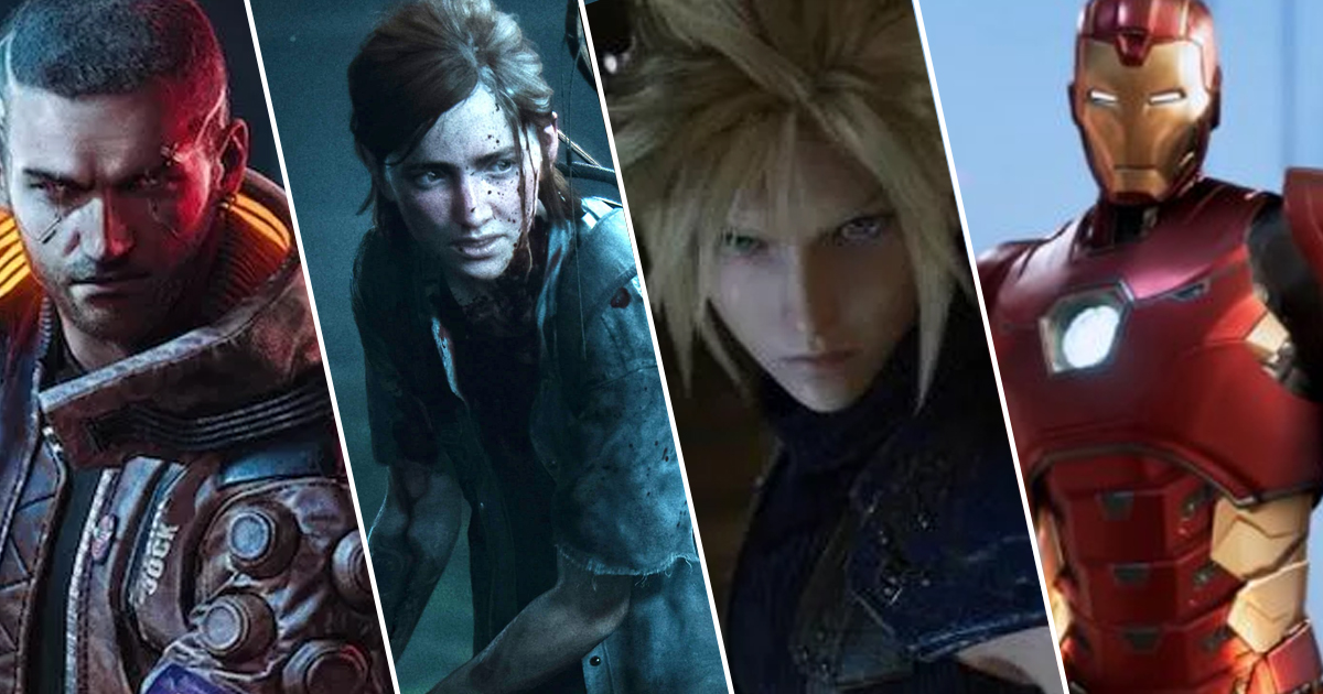 Biggest Games Of 2020.2020 Could Be The Biggest Year Yet For Gaming Releases And