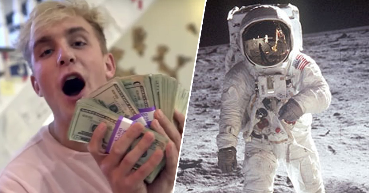 American Kids Would Rather Become Famous YouTubers Than Astronauts