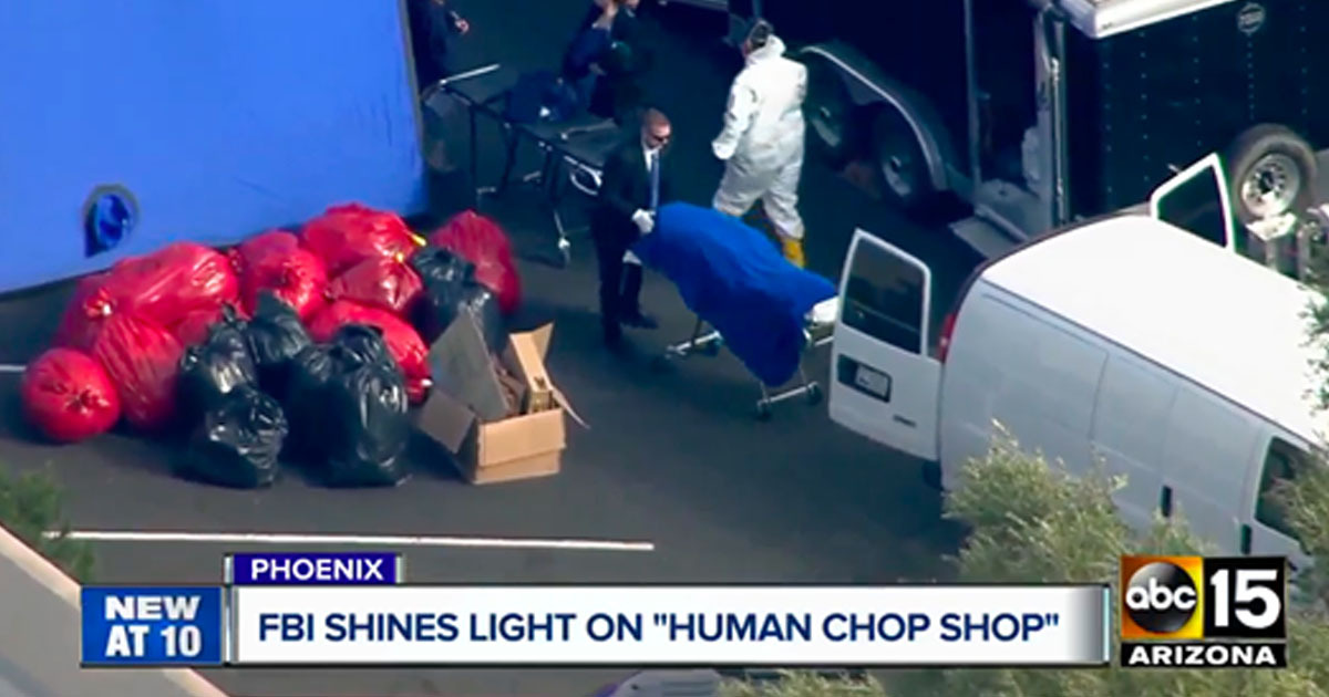 FBI Finds Buckets Of Heads, Cooler Of Penises, And Bodies Sewn Together In 'Human Chop Shop'