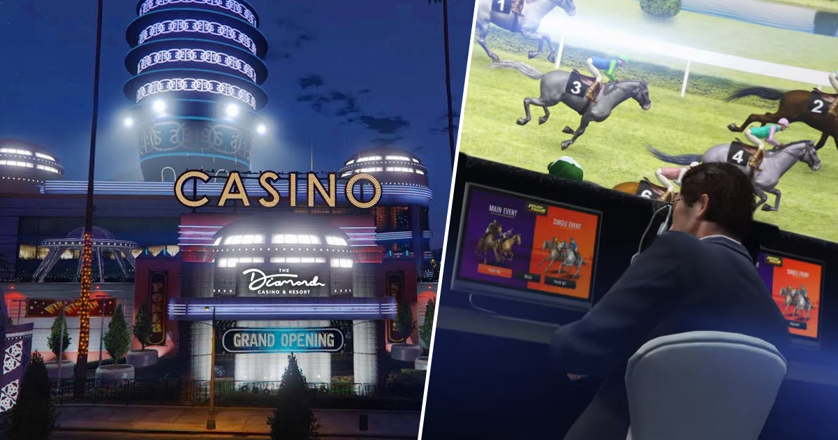 GTA Online's Latest Update Finally Opens The Doors To The Casino
