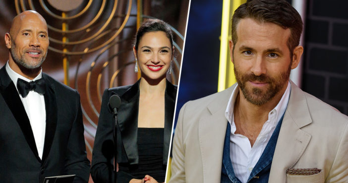 Ryan Reynolds To Star Alongside The Rock And Gal Gadot In Netflix Heist Thriller