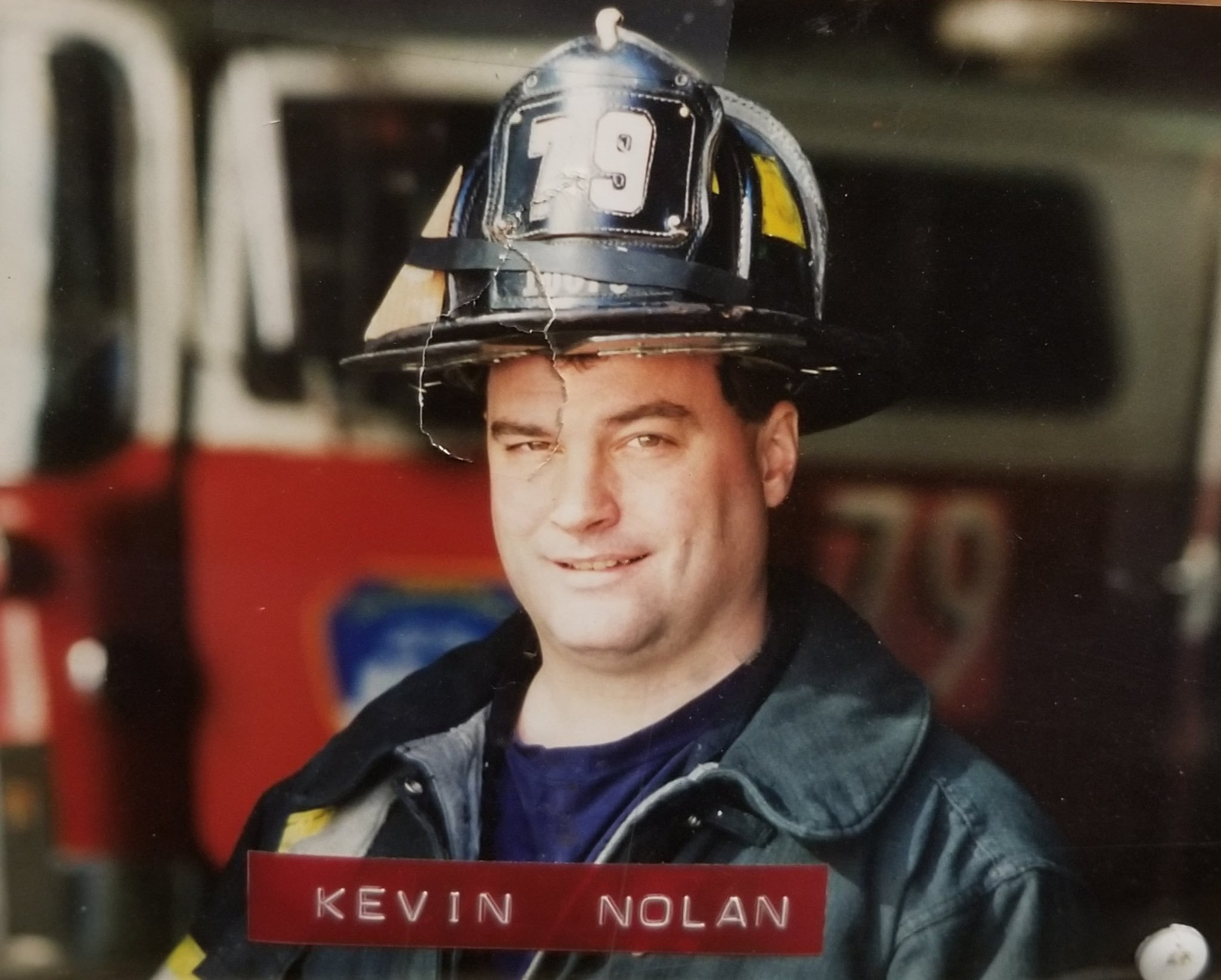 Kevin Nolan firefighter