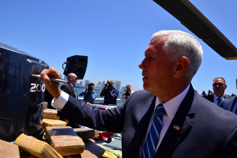 Mike Pence drug bust