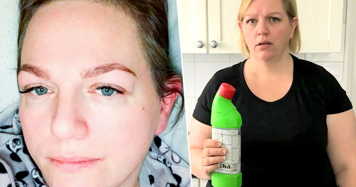 Sleepwalking Mum Wakes Up To Find Herself Downing A Bottle Of Bleach