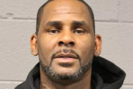 R Kelly mugshot