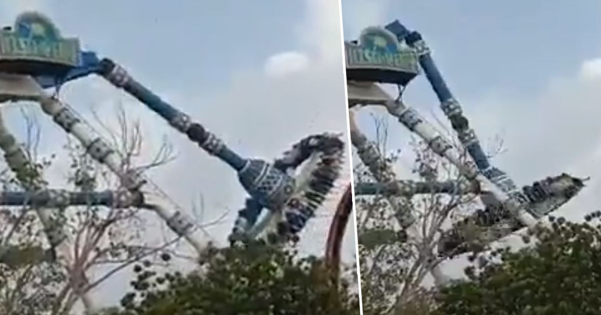 Two Dead And Dozens Injured After Ride Snaps In Half At Theme Park
