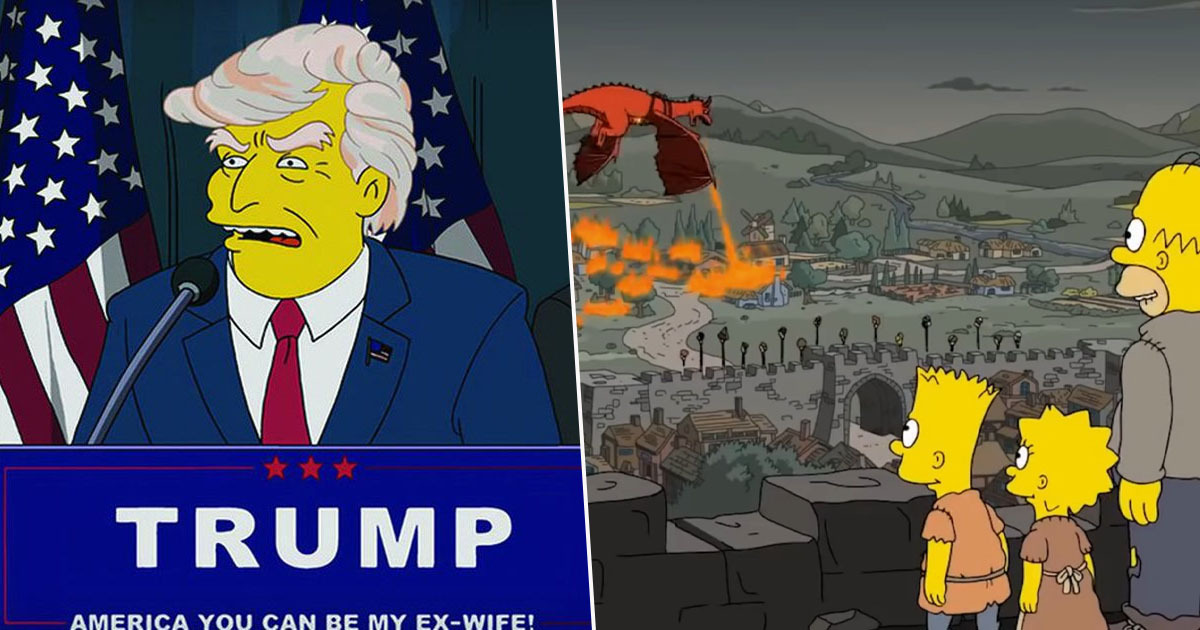The Simpsons Writers Have Confessed 'How They Predict The Future'