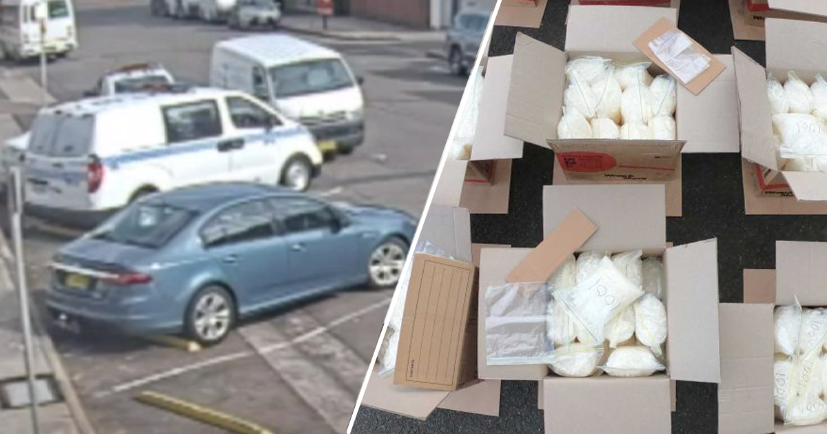 Van Carrying 270kg Of Drugs Worth $200m Crashes Into Parked Police Cars