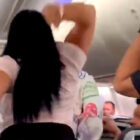 Woman Smashes Laptop Over Boyfriend's Head After He Looked At Another Woman On Plane