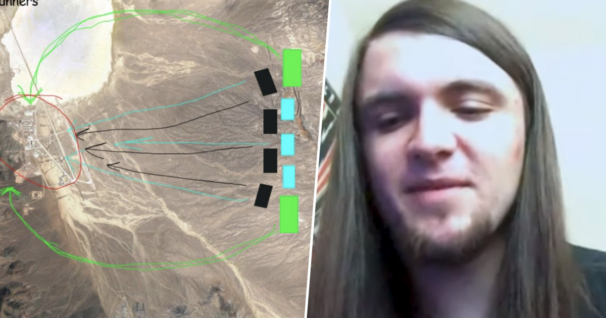 Guy Who Started 'Storm Area 51' Did It As A Joke And Now He's Freaking Out