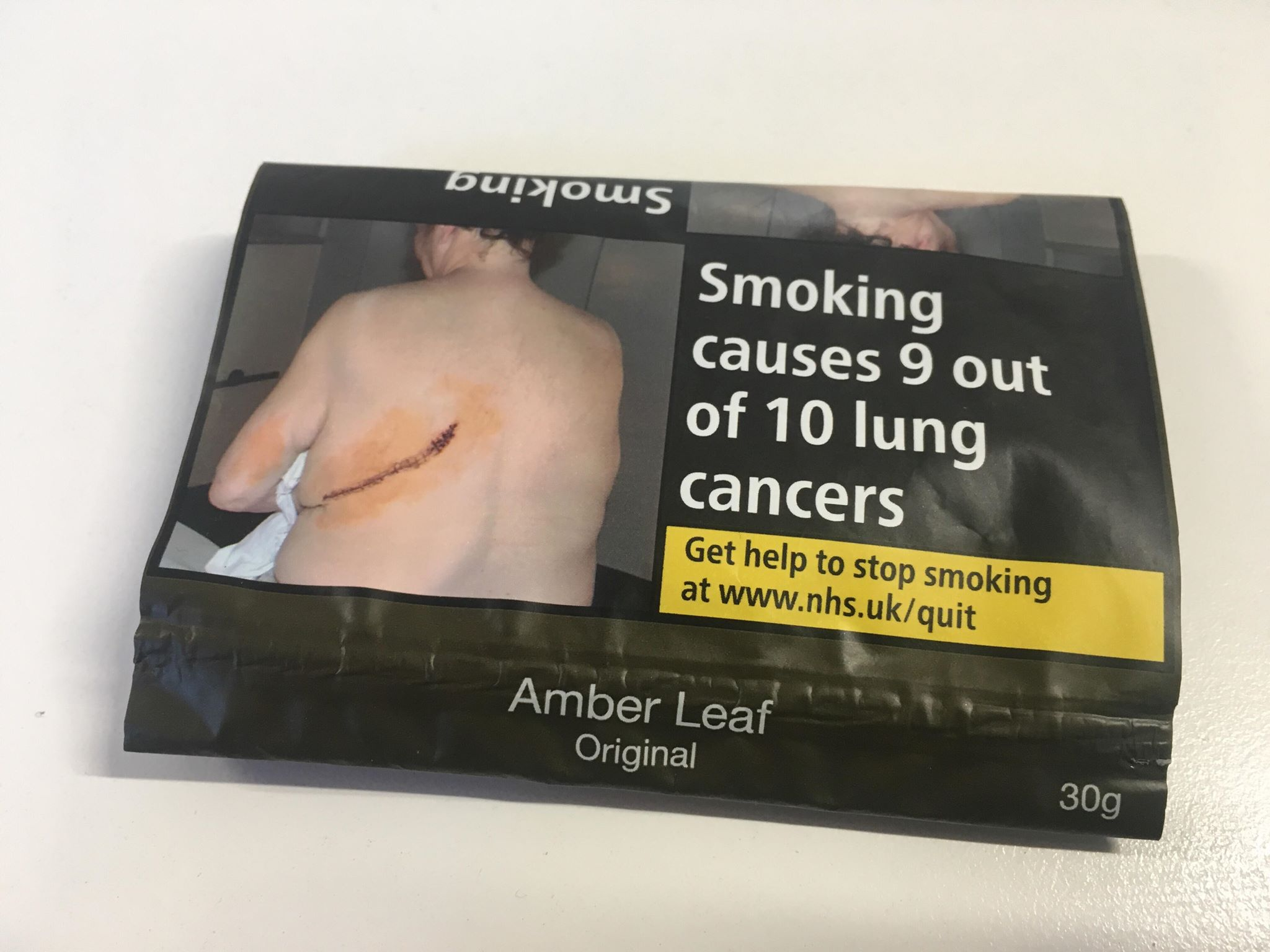 tobacco health warning