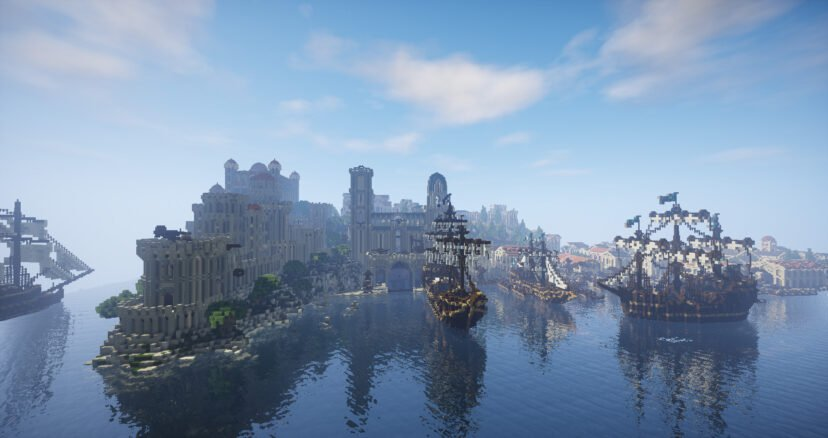 Minecraft Players Recreate Whole Of Middle Earth After Nine