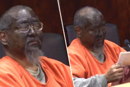 Man shows up to court in blackface