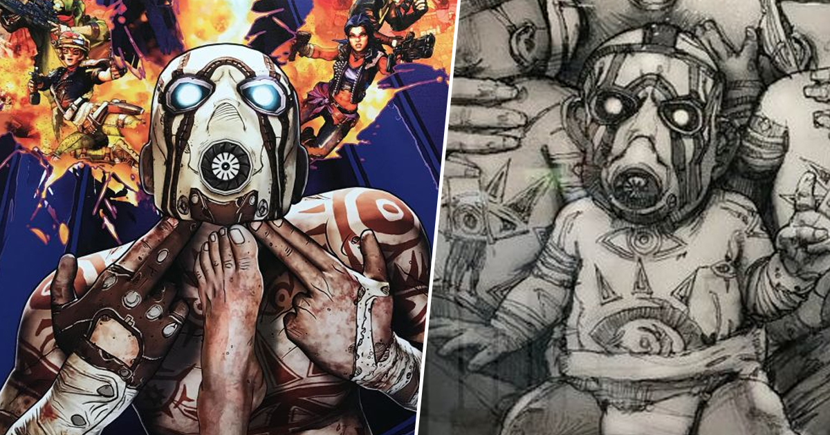 Borderlands 3 Cut Cover Art Reveals Some Hilarious Concepts