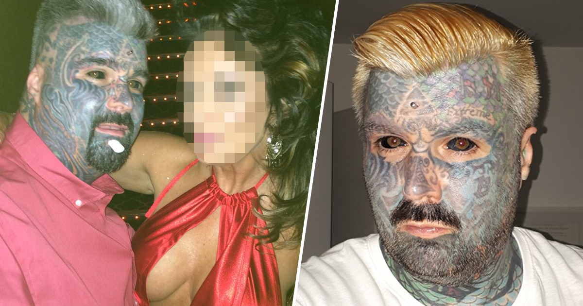 Britain's Most Tattooed Man Says Women Reject Him Because He Doesn't Have 'Love Island Body'
