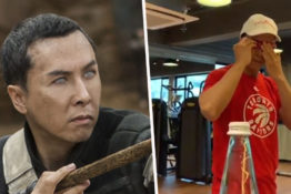 bottle cap challenge donnie yen