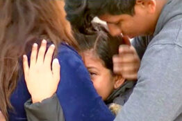 nine-year-old girl reunited with parents after being detained at US border for 32 hours