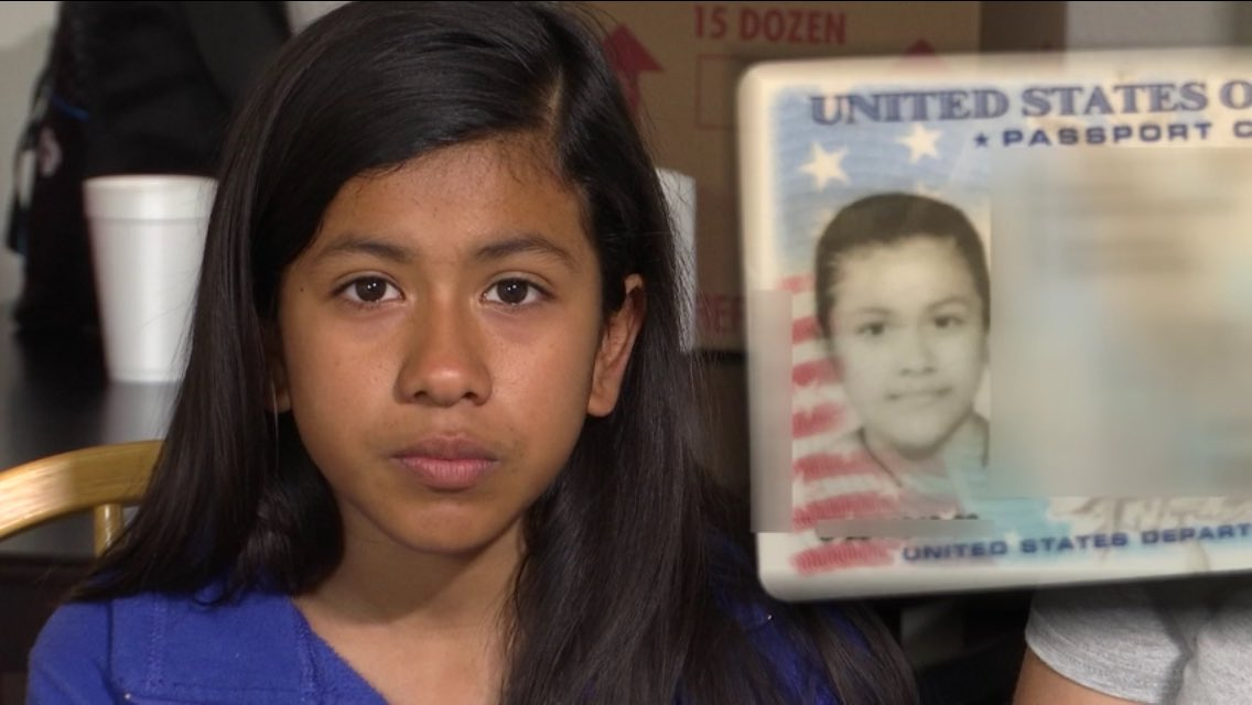 nine-year-old julia medina and passport