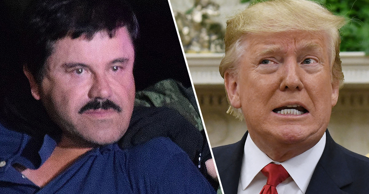 El Chapo's $12.6bn Fortune Should Be Used To Fund Trump's Border Wall Says Ted Cruz