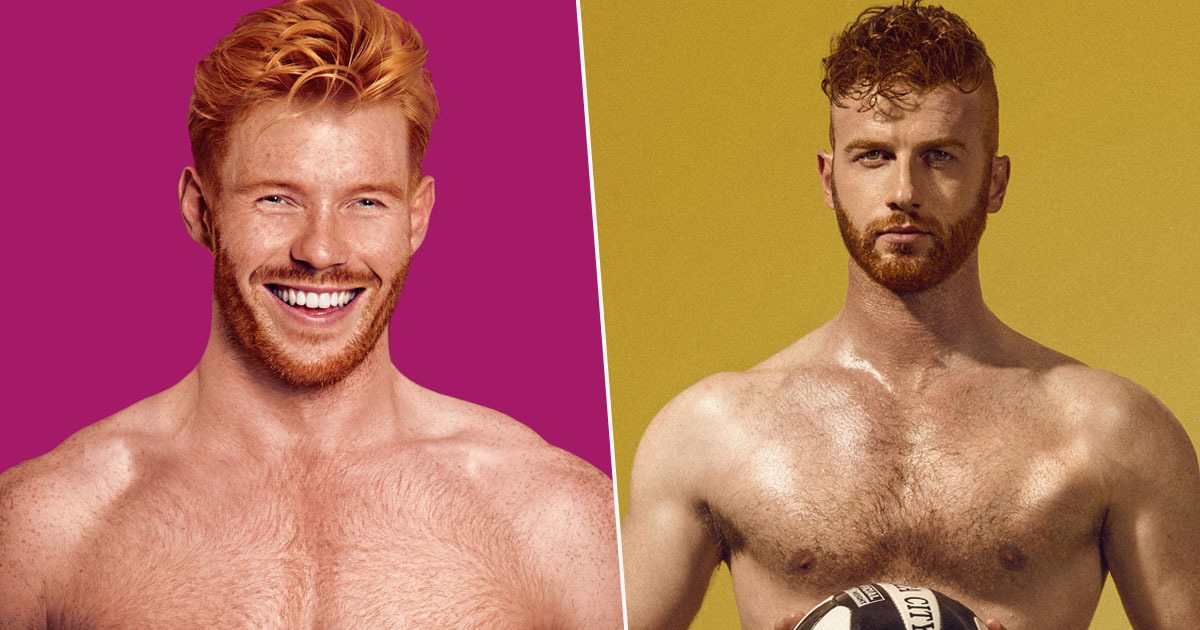 Red Hot calendar looking for ginger models