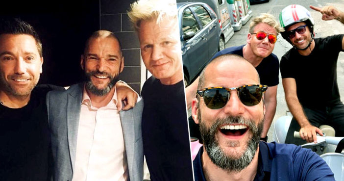 Gordon Ramsay, Gino D'Acampo And Fred Sirieix Planning TV Road Trip In America