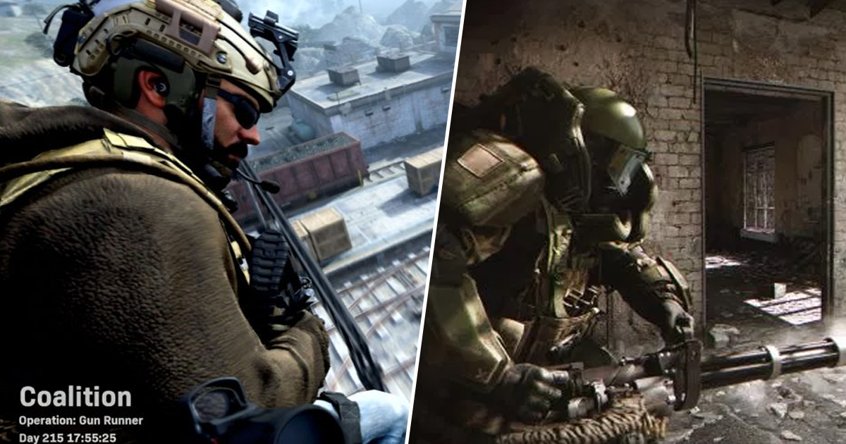 Call Of Duty: Modern Warfare Clip Teases Epic Multiplayer Match Entrances