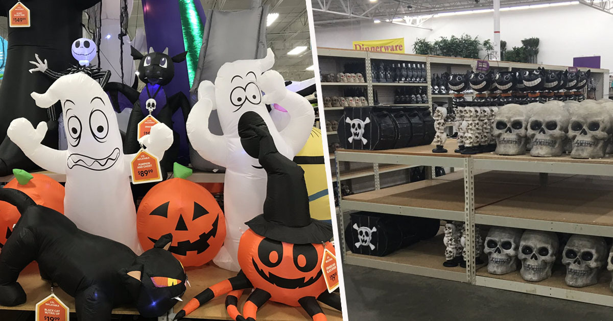 Itu0027s Only July And Stores Already Have Halloween Decorations ...