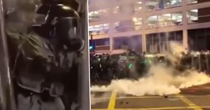 Hong Kong Police Tear-Gassed Themselves Because They Forgot How Downwind Works