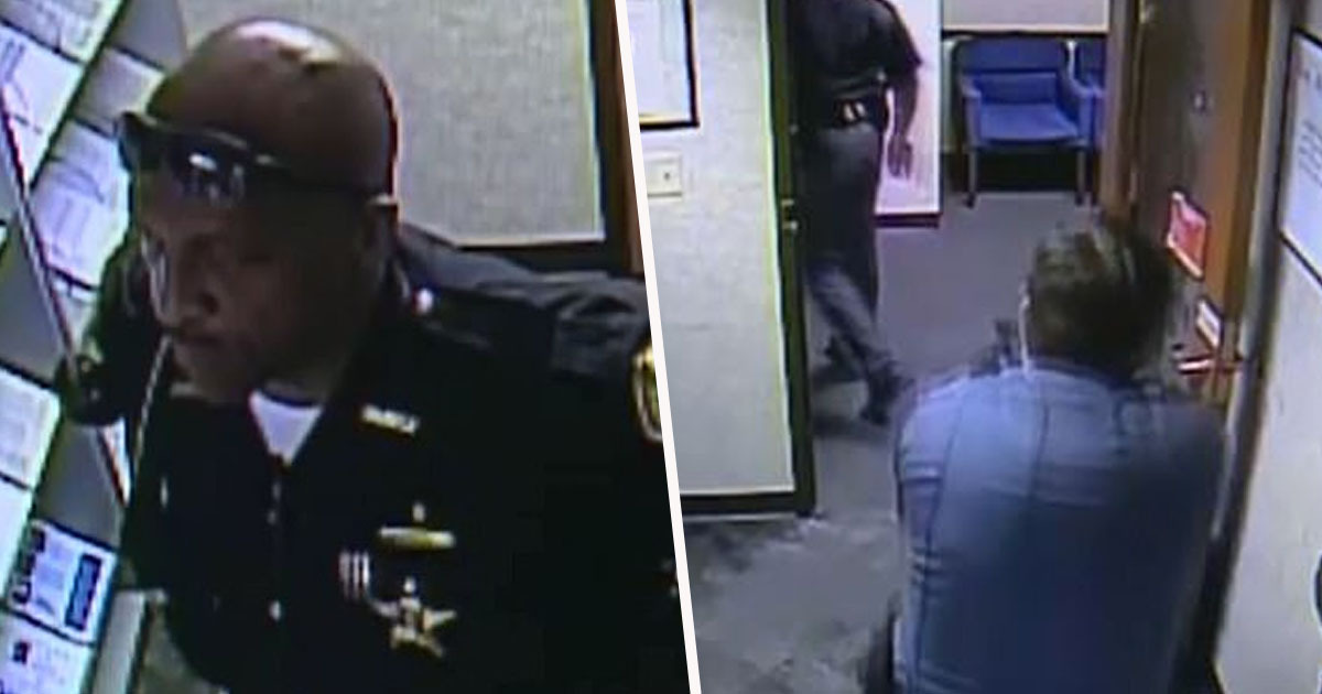 White Security Guard Pulls Gun On Black Sheriff Because He Was Armed
