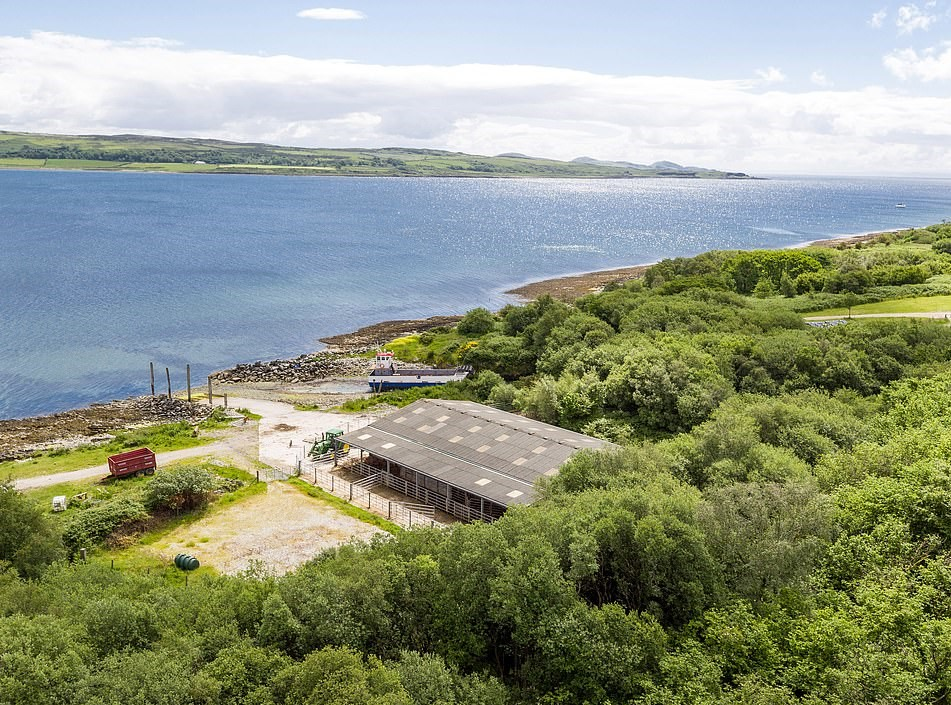 far on remote Scottish island for sale