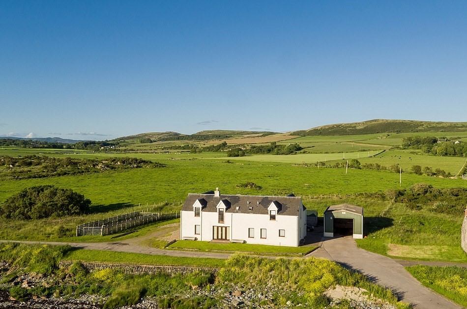 farm for sale on remote Scottish island