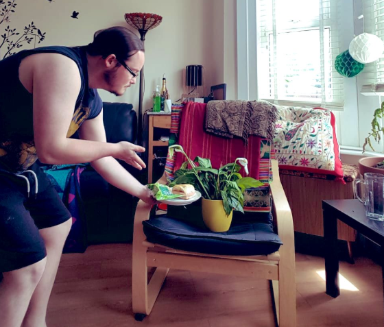 Guy Looking After Plants While Housemate's Away Shares Hilarious Photos