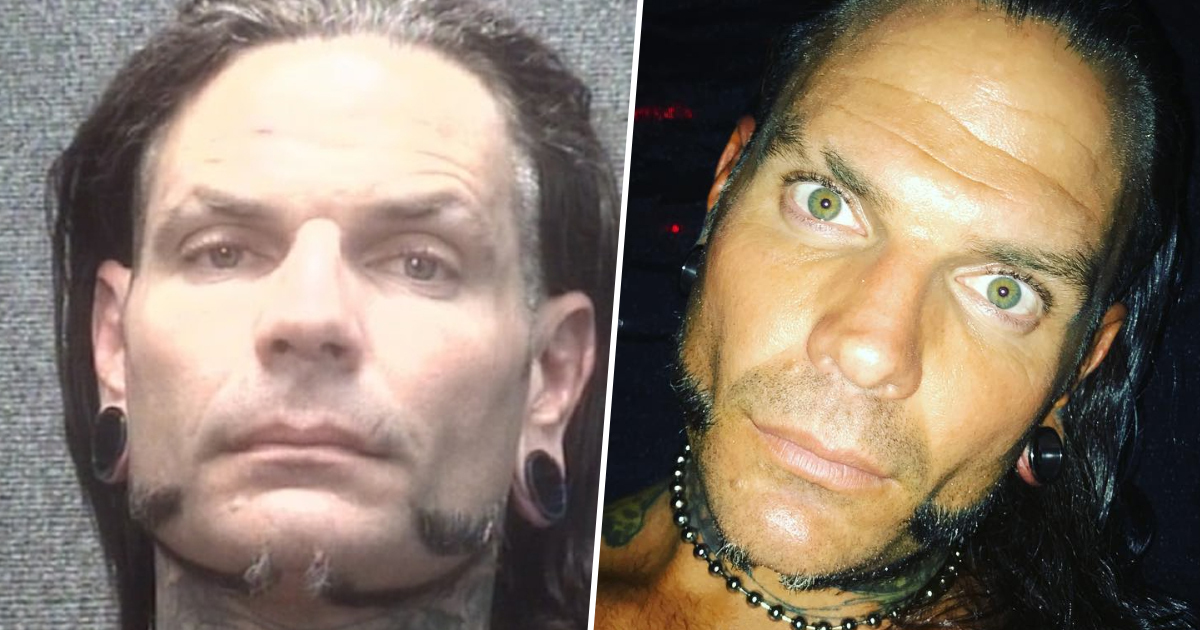 WWE Wrestler Jeff Hardy Arrested For Being 'Drunk In Public'