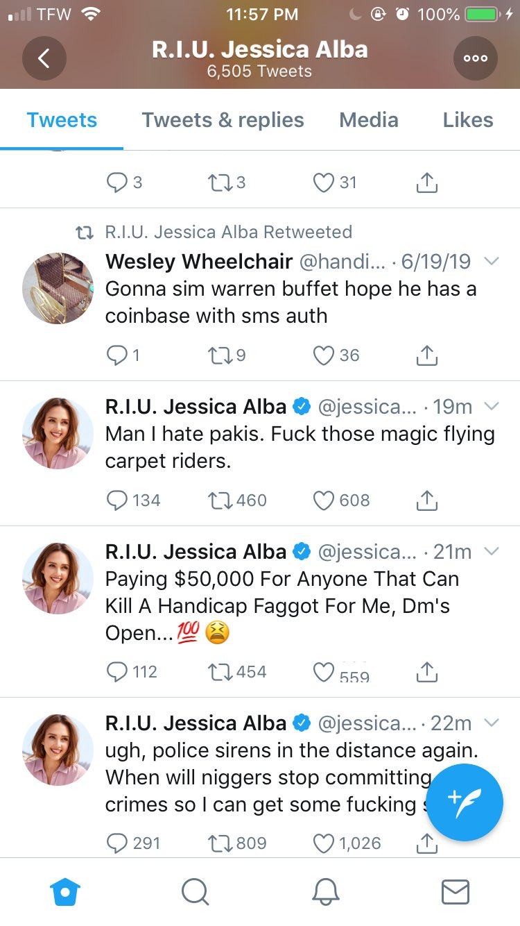 Jessica Alba's Twitter Has Been Taken Over By Racist, Homophobic Hackers