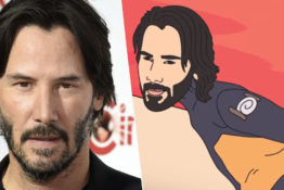 Keanu Reeves Raids Area 51 In Lil Nas' New Music Video