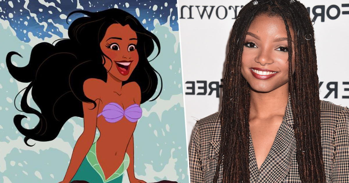 Halle Bailey The Little Mermaid