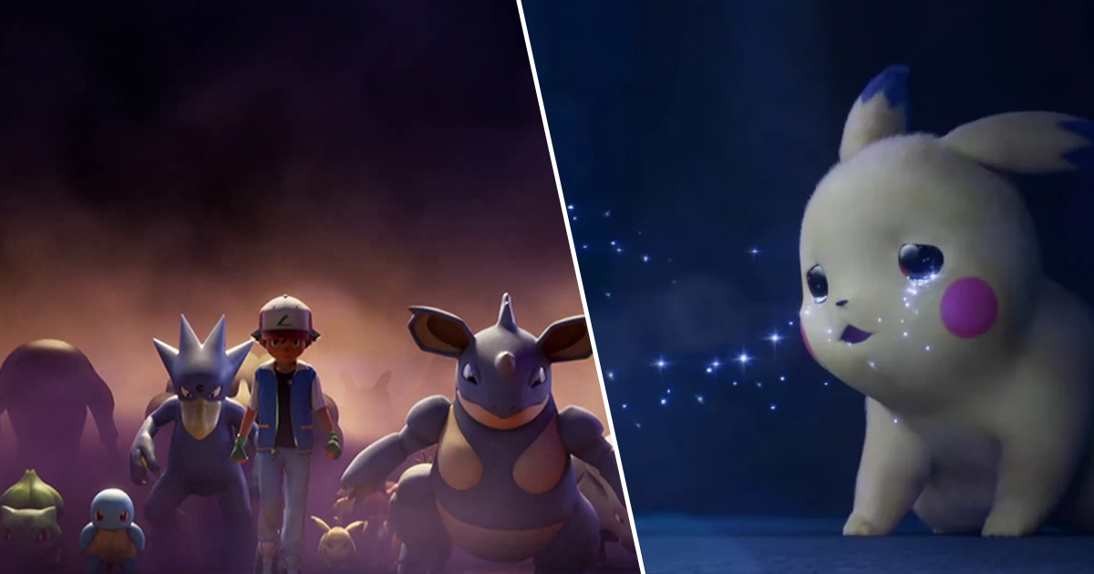 New Pokemon Mewtwo Strikes Back Evolution Trailer Is Heavy On The