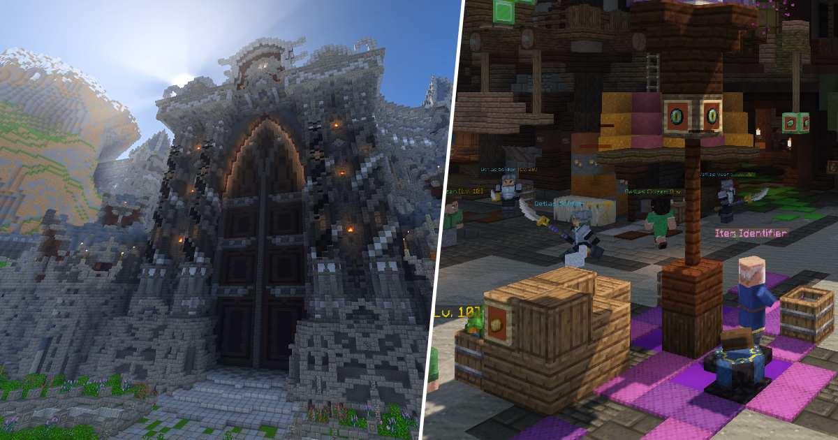 Wynncraft Is A Full MMORPG Built Entirely In Minecraft Over Six Years