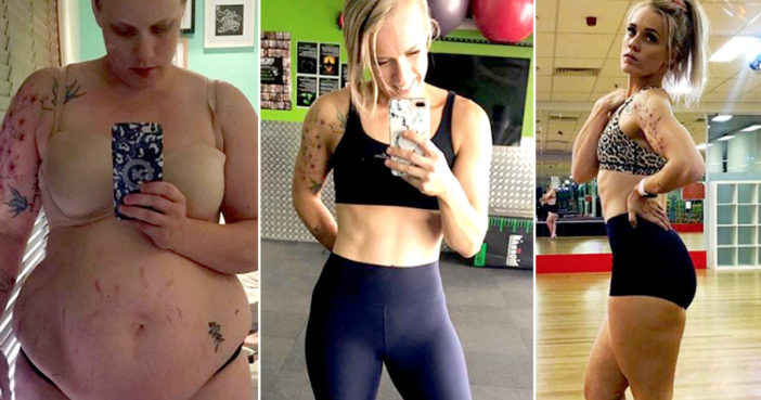 Mum Who Weighed 130kg Loses Nine Stone To Compete In Fitness Competition
