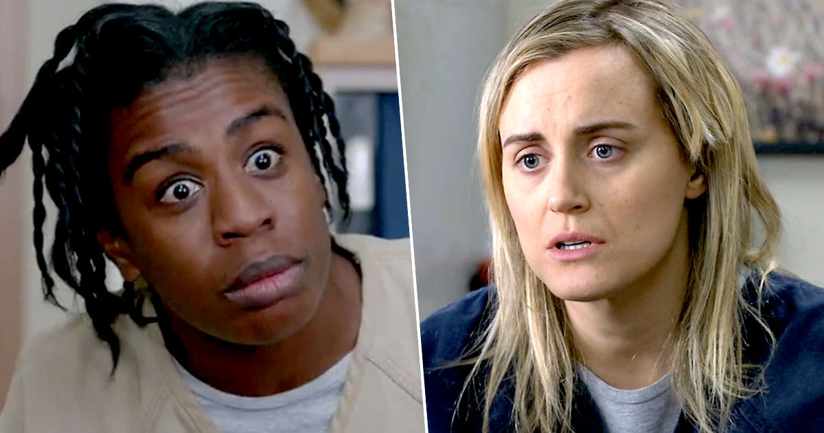crazy eyes and piper from orange is the new black