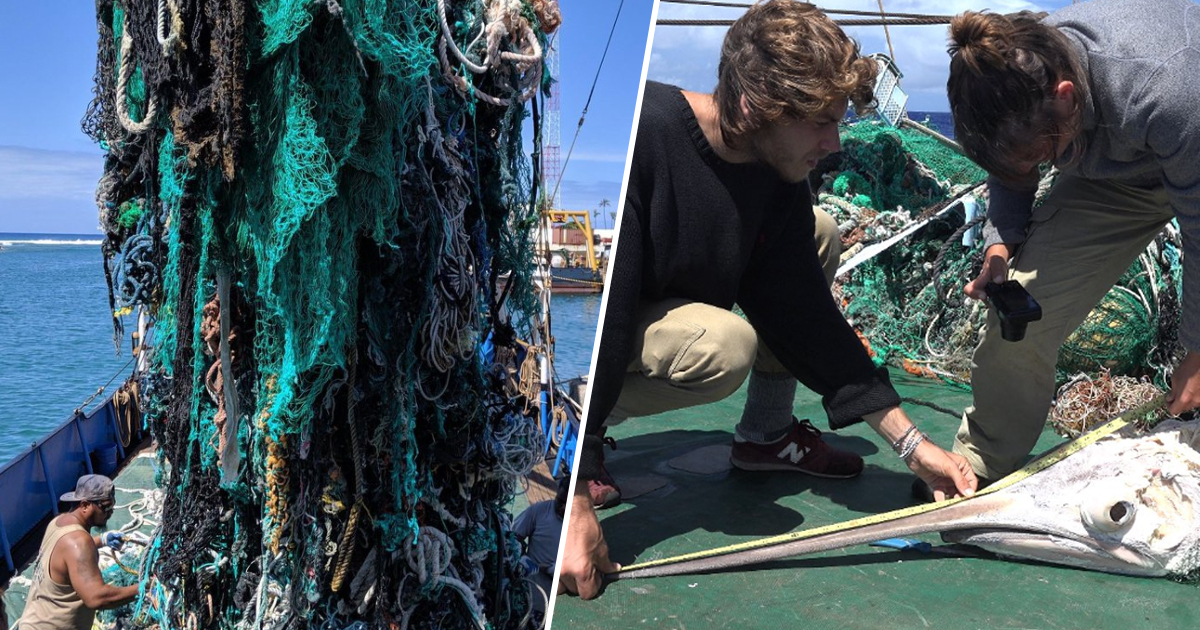 40 Tons of Plastic Pulled From Great Pacific Garbage Patch