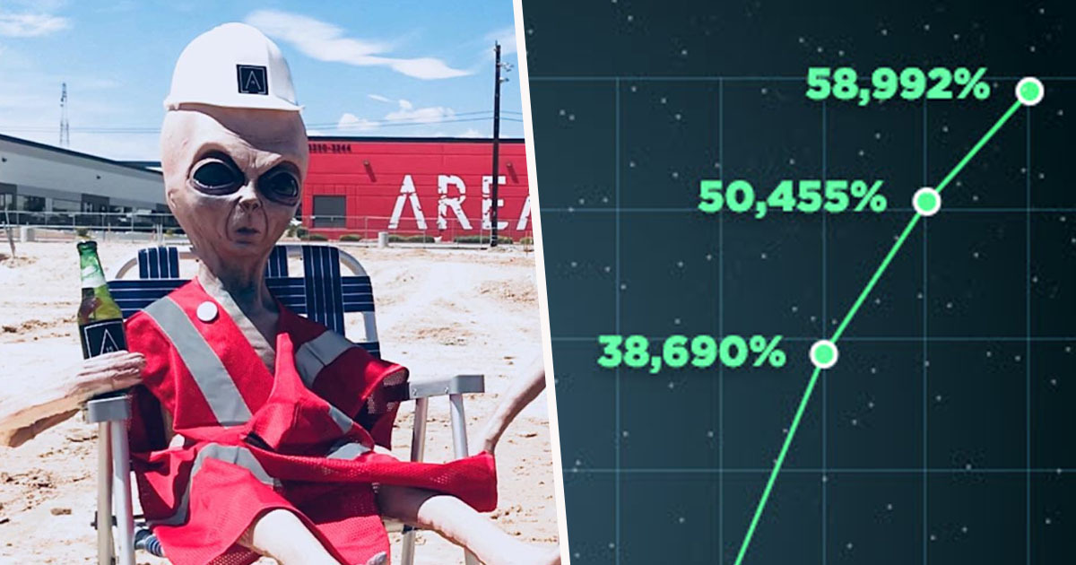 Area 51 searches surge on Pornhub