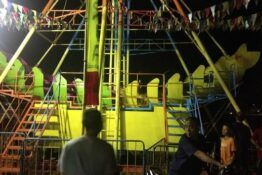 Pirate ship ride crashes killing one teen and injuring three others