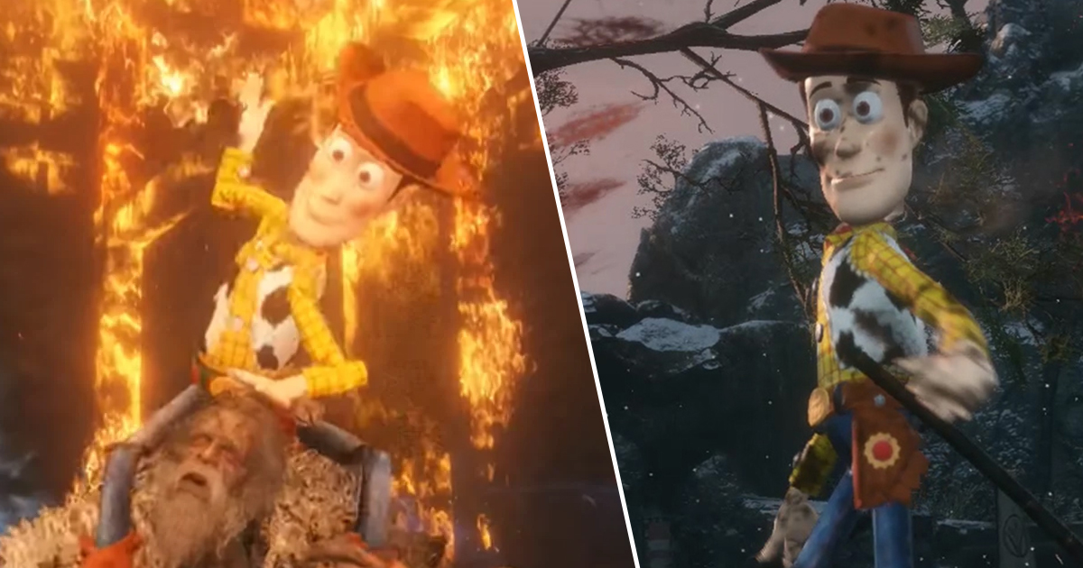 Woody Is A Now Serial Killer, Thanks To Chilling Sekiro Mod