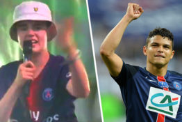 Thiago Silva Finds Guy Who Rapped 'Thiago Silva' Perfectly With Dave At Glastonbury